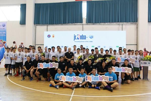 Hơn 8.000 thanh thiếu niên tham gia chương trình Jr. NBA Việt Nam ảnh 2