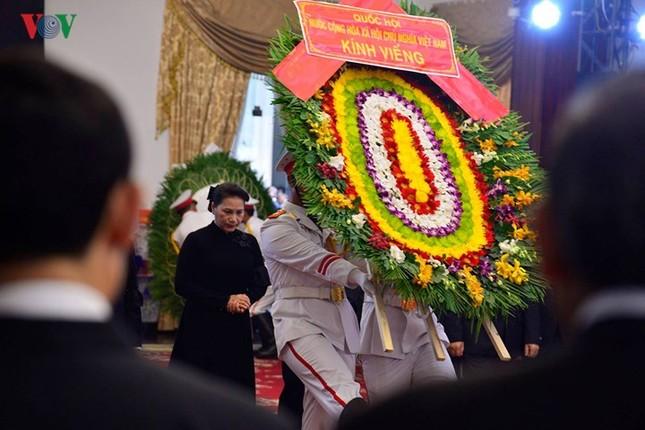 Toàn cảnh lễ viếng nguyên Thủ tướng Phan Văn Khải tại TPHCM và Hà Nội ảnh 11
