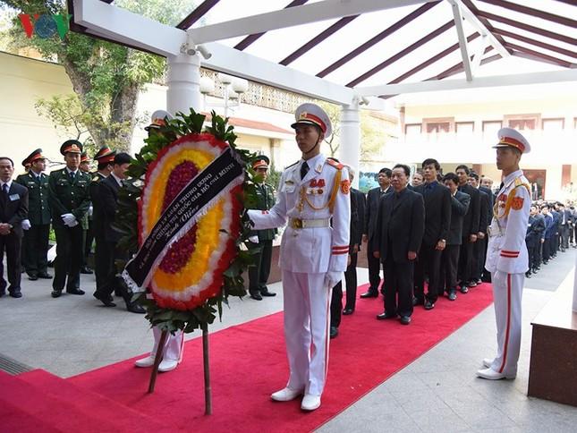 Toàn cảnh lễ viếng nguyên Thủ tướng Phan Văn Khải tại TPHCM và Hà Nội ảnh 22
