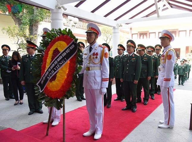 Toàn cảnh lễ viếng nguyên Thủ tướng Phan Văn Khải tại TPHCM và Hà Nội ảnh 24