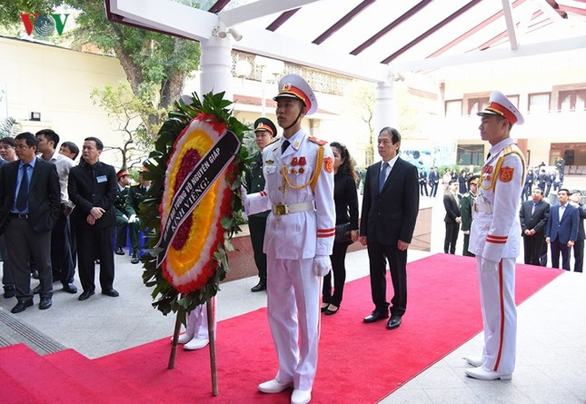 Toàn cảnh lễ viếng nguyên Thủ tướng Phan Văn Khải tại TPHCM và Hà Nội ảnh 25