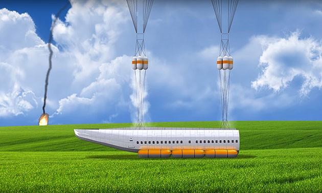 Phát minh máy bay 'thằn lằn' tự tách rời khi gặp nạn ảnh 3