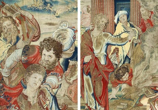 Tấm thảm thêu bằng chỉ vàng được tìm thấy sau gần 250 năm ảnh 2
