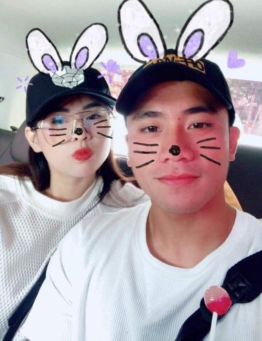 Đến lượt cầu thủ Bùi Tiến Dụng U23 Việt Nam công khai bạn gái? ảnh 1