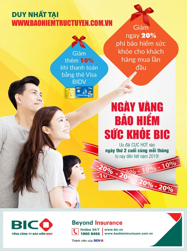 BIC ưu đãi 30% phí bảo hiểm sức khỏe cho khách hàng mua trực tuyến ảnh 1