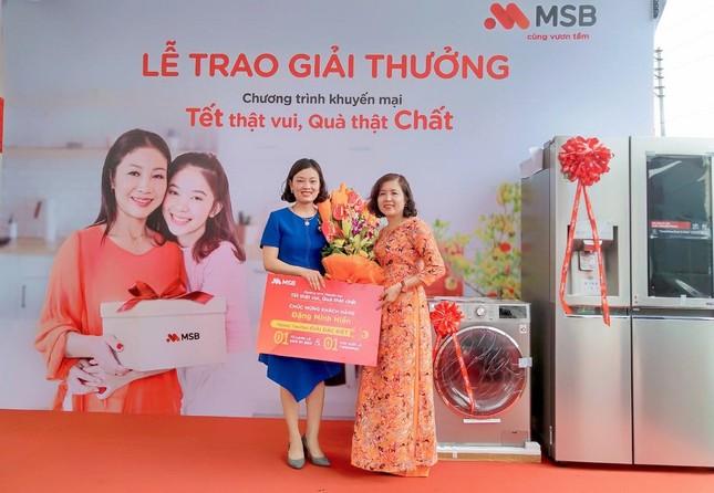 Tìm ra khách hàng may mắn trúng giải đặc biệt ưu đãi Xuân 2019 từ MSB ảnh 2
