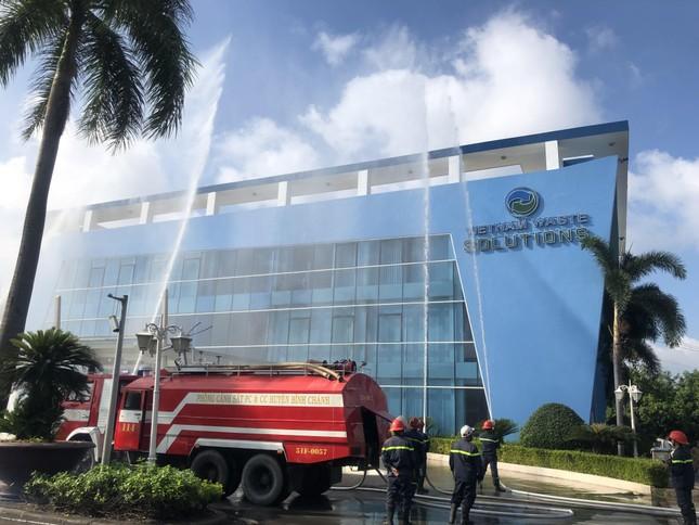 Diễn tập PCCC và cứu hộ cứu nạn tại VWS ảnh 1