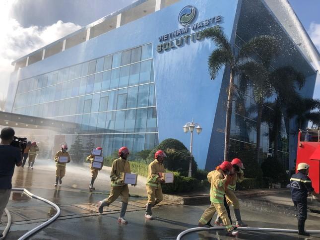Diễn tập PCCC và cứu hộ cứu nạn tại VWS ảnh 2