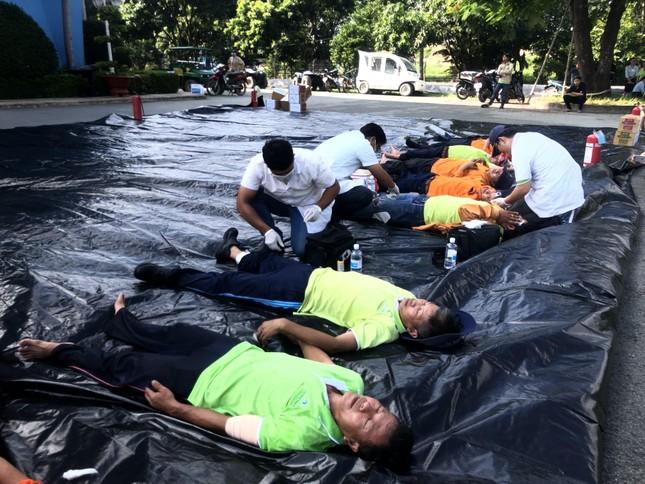 Diễn tập PCCC và cứu hộ cứu nạn tại VWS ảnh 3