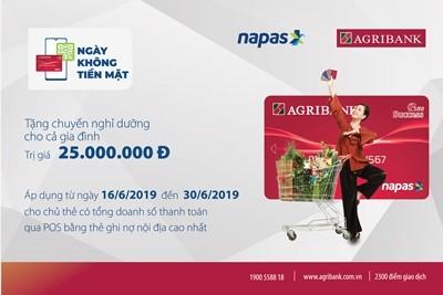 Agribank: Nhiều giải pháp thúc đẩy thanh toán không dùng tiền mặt ảnh 1