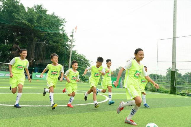 Tuyển bóng đá nhí Việt Nam lần đầu tranh tài tại giải đấu quốc tế ảnh 2