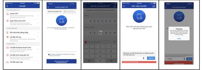 Từ hôm nay, BIDV tích hợp Smart OTP trên BIDV SmartBanking ảnh 2
