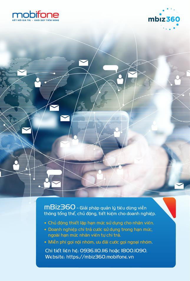 mBiz360 - giải pháp quản lý tiêu dùng thông minh cho doanh nghiệp hiện đại ảnh 1