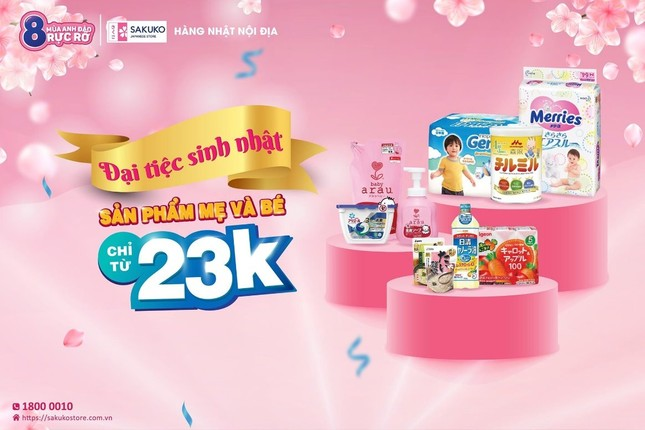 Sakuko Japanese Store tiên phong trong lĩnh vực bán lẻ hàng tiêu dùng ảnh 1