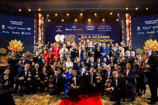 Vinpearl đạt kỷ lục tại giải thưởng du lịch thế giới châu Á và châu Đại Dương ảnh 1