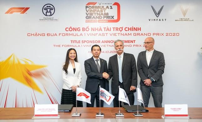 VinFast là nhà tài trợ chính của chặng đua Công thức 1 Việt Nam ảnh 2
