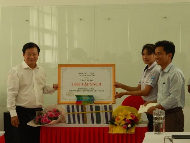 Phó Thủ tướng thăm ngôi trường Trung Nam group xây tặng học sinh nghèo ảnh 2