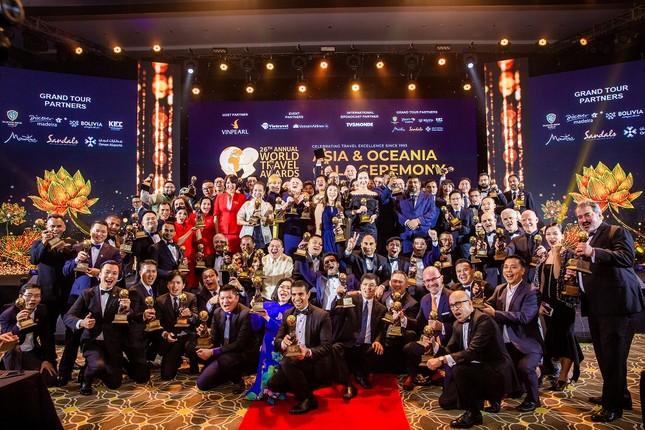 Dấu ấn Việt Nam và Vinpearl Phú Quốc tại Lễ trao giải WTA 2019 ảnh 1