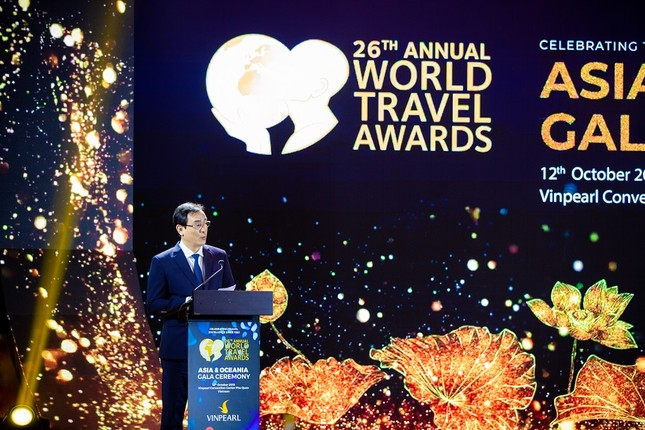 Dấu ấn Việt Nam và Vinpearl Phú Quốc tại Lễ trao giải WTA 2019 ảnh 5