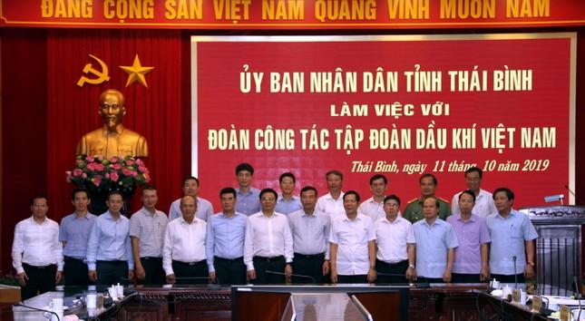Tổng giám đốc PV GAS tham gia Đoàn làm việc với lãnh đạo UBND tỉnh Thái Bình ảnh 2