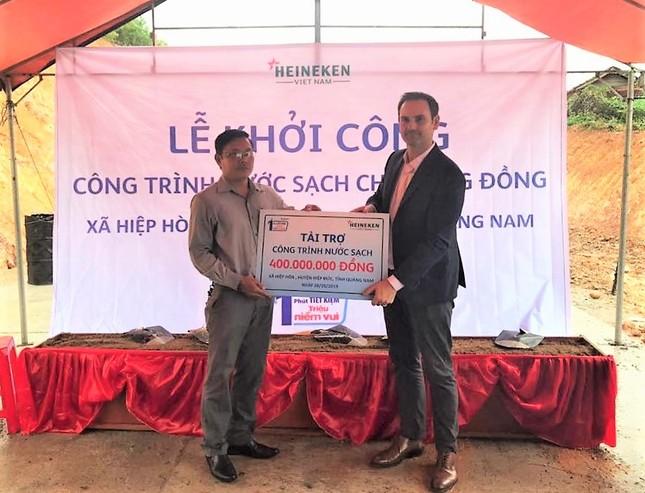 Heineken Việt Nam tài trợ công trình nước sạch tại Quảng Nam ảnh 1