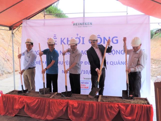 Heineken Việt Nam tài trợ công trình nước sạch tại Quảng Nam ảnh 2
