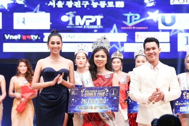 Đặng Thu Thảo đăng quang cuộc thi Hoa hậu Doanh Nhân Sắc Đẹp Thế Giới 2019 ảnh 1
