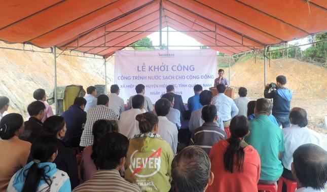 Heineken Việt Nam tài trợ công trình nước sạch tại Quảng Nam ảnh 3