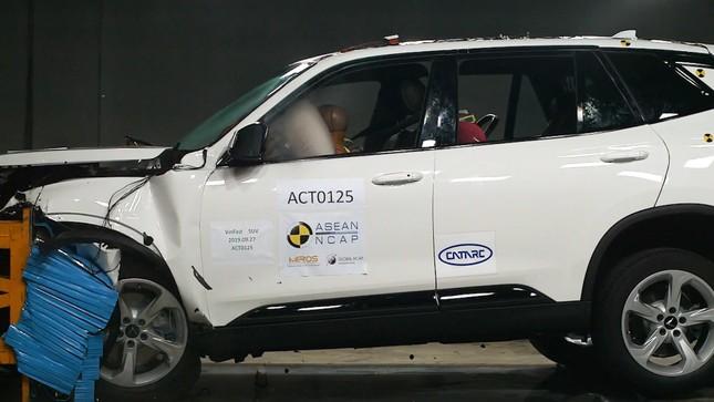 Hé lộ video xe Vinfast được kiểm định bởi Asean Ncap ảnh 2