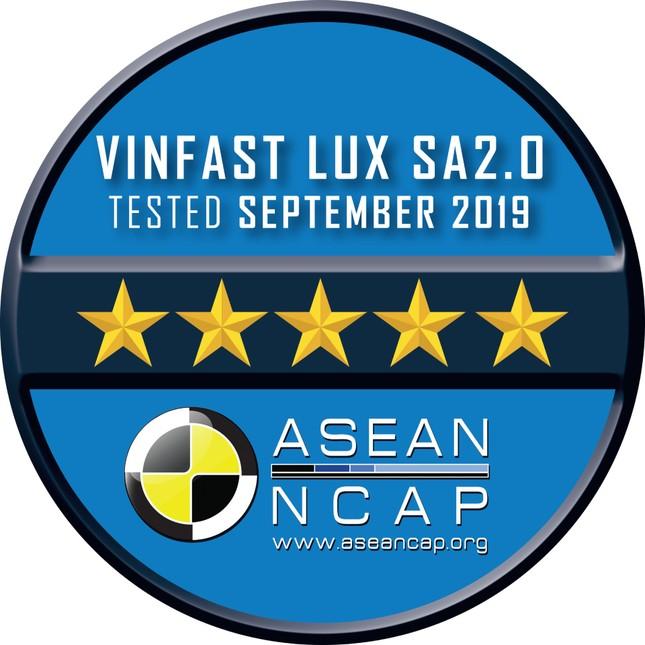 Vinfast đạt chứng nhận an toàn Asean Ncap 5 sao cho Lux SA 2.0, Lux A2.0 ảnh 3