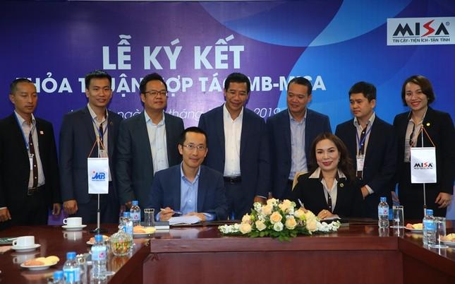 MB và MISA ký kết thỏa thuận hợp tác chiến lược ảnh 1