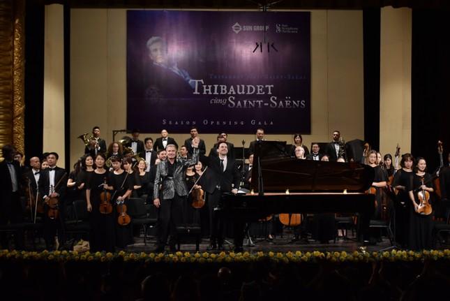 Khán giả thủ đô say mê trong đêm nhạc 'Thibaudet trình diễn Saint-Saëns' ảnh 7