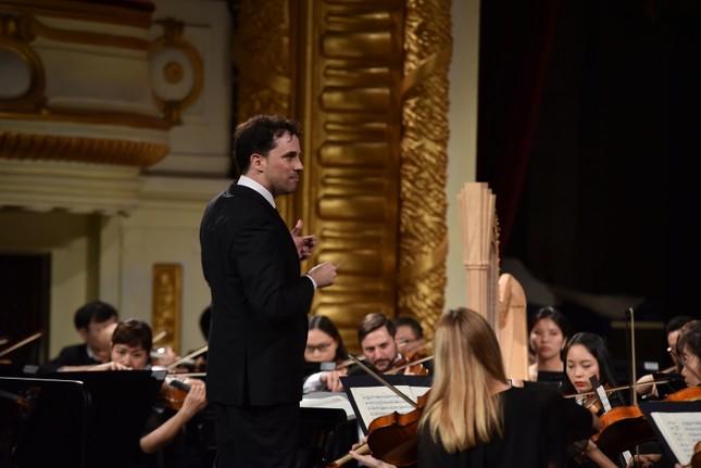 Khán giả thủ đô say mê trong đêm nhạc 'Thibaudet trình diễn Saint-Saëns' ảnh 5