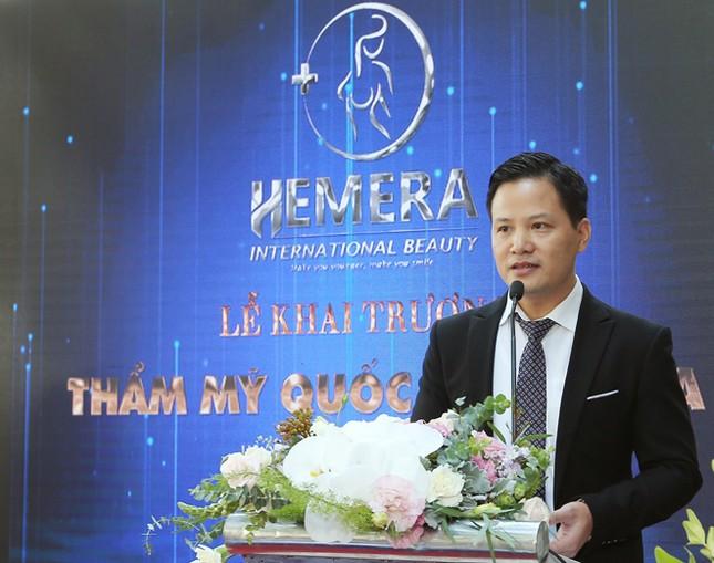 Khai trương Thẩm mỹ Quốc tế Hemera thu hút hàng trăm khách hàng tới tham dự ảnh 1