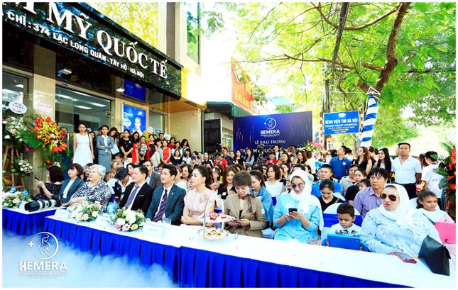 Khai trương Thẩm mỹ Quốc tế Hemera thu hút hàng trăm khách hàng tới tham dự ảnh 2