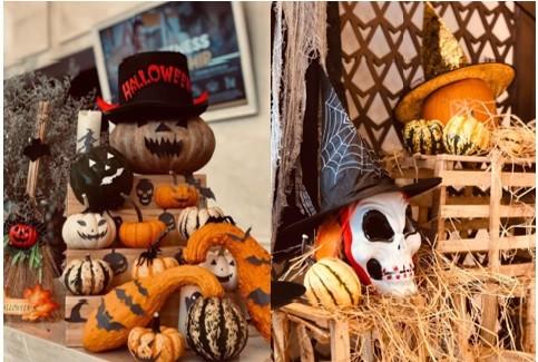 """Choáng với """"siêu bảo tàng"""" bí ngô của Vinpearl trong mùa Halloween ảnh 12"""