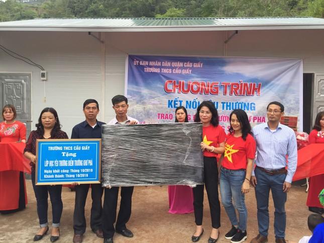 Thầy trò THCS Cầu Giấy vượt 400 cây số đem yêu thương cho học sinh Hà Giang ảnh 7