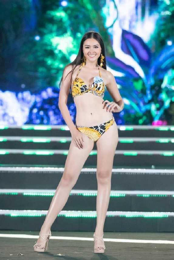 Ngắm hình thể quyến rũ của Á hậu Tường San trước ngày đến Miss International ảnh 5