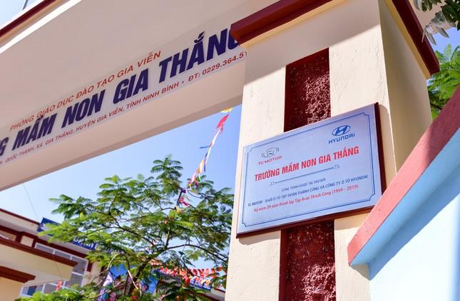 TC Motor khánh thành trường mầm non chuẩn quốc gia tại Ninh Bình ảnh 1