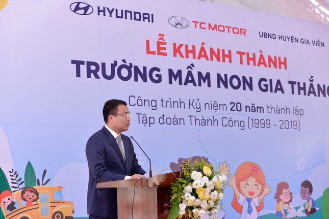TC Motor khánh thành trường mầm non chuẩn quốc gia tại Ninh Bình ảnh 2