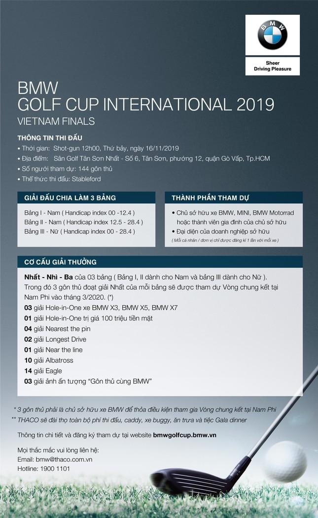 Trở thành người Việt Nam đầu tiên tham gia giải golf BMW toàn cầu ảnh 3