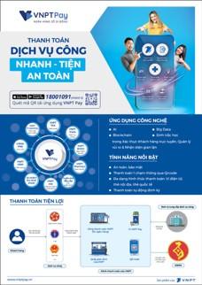 VNPT đẩy mạnh cung cấp thanh toán dịch vụ công không dùng tiền mặt ảnh 1