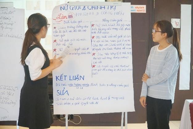 Tập huấn về giới và Bình đẳng giới trong Dự án 'Tôi mạnh mẽ' ảnh 6