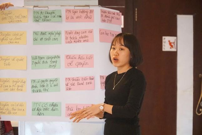 Tập huấn về giới và Bình đẳng giới trong Dự án 'Tôi mạnh mẽ' ảnh 7
