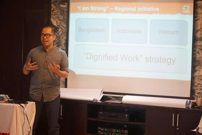 Tập huấn về giới và Bình đẳng giới trong Dự án 'Tôi mạnh mẽ' ảnh 9