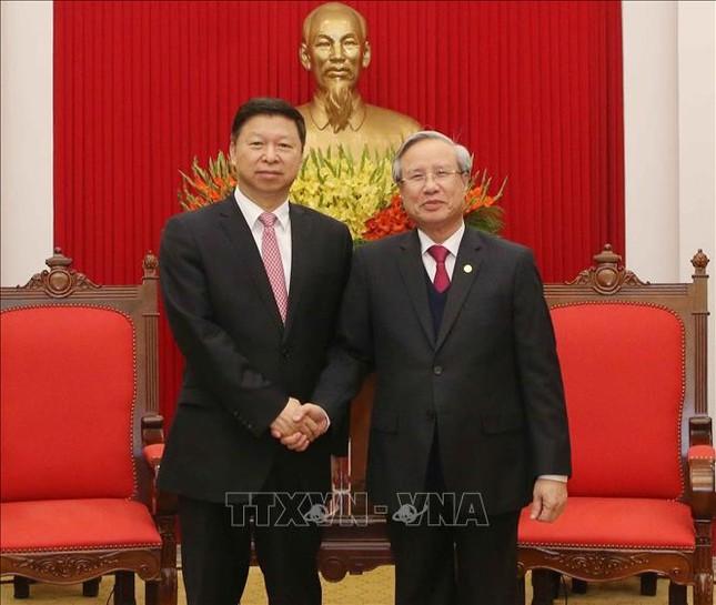 Thường trực Ban Bí thư tiếp Đoàn Đại biểu Đảng Cộng sản Trung Quốc ảnh 1