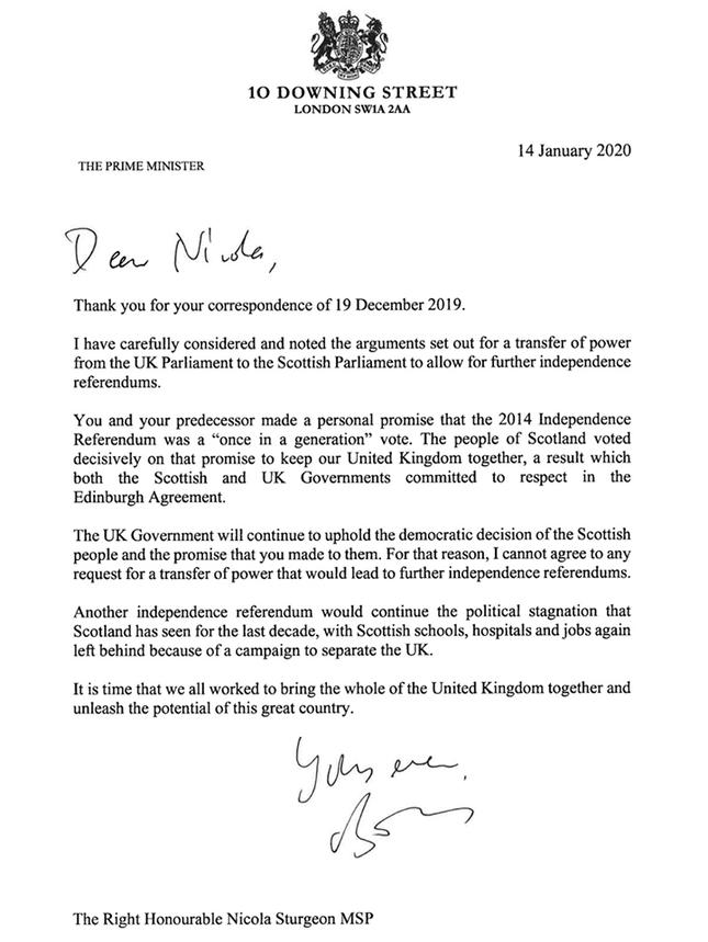 Thủ tướng Anh bác đề xuất trưng cầu dân ý Scotland lần hai ảnh 1