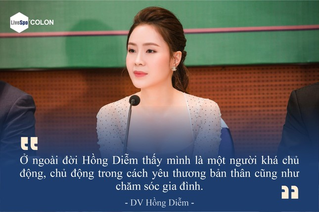 DV Hồng Diễm tiết lộ cách bảo vệ đại tràng cho ông xã bằng LiveSpo COLON ảnh 1