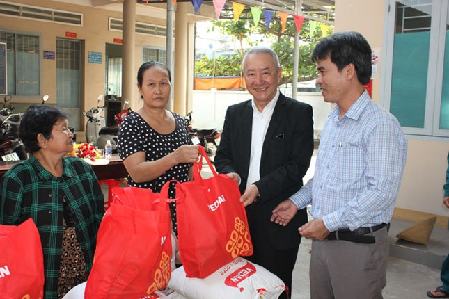 Vedan Việt Nam tặng 1000 phần quà Tết cho người dân khó khăn Đồng Nai ảnh 1