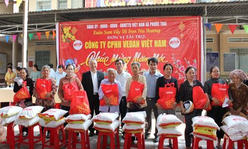 Vedan Việt Nam tặng 1000 phần quà Tết cho người dân khó khăn Đồng Nai ảnh 2